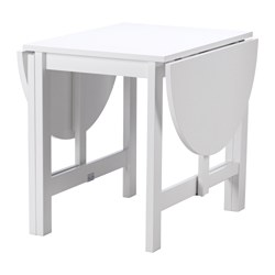 SKOGHULT - drop-leaf table, white | IKEA Hong Kong and Macau - PE639885_S3