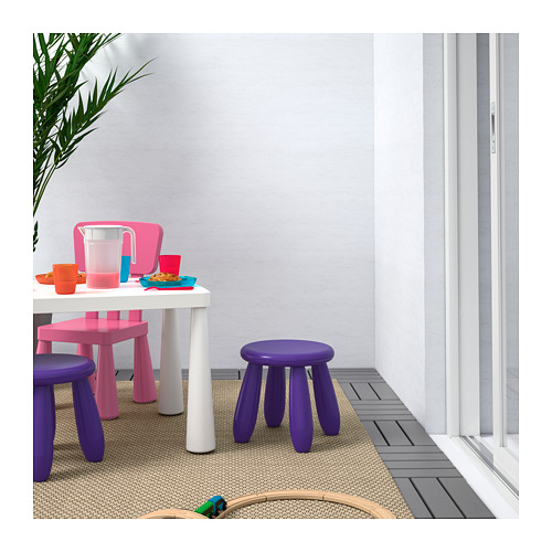 MAMMUT - children's stool, in/outdoor/dark lilac | IKEA Hong Kong and Macau - PE687251_S4
