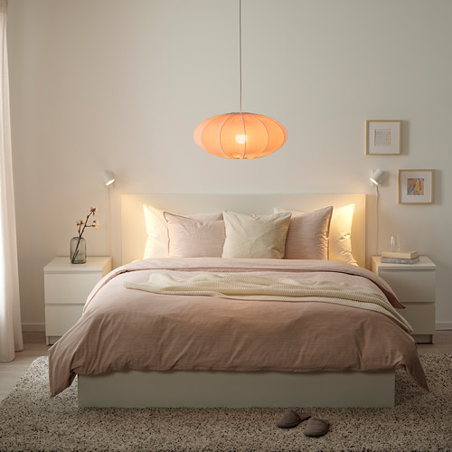 REGNSKUR - 吊燈燈罩, 橢圓形 粉紅色   IKEA 香港及澳門 - PE772845_S4