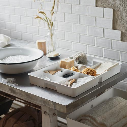 KUGGIS - 內置8間隔貯物架, 36x53x6 cm, 白色 | IKEA 香港及澳門 - PE772895_S4