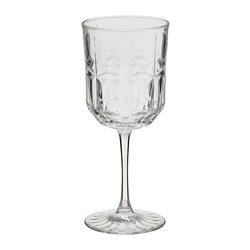 SÄLLSKAPLIG - wine glass, clear glass/patterned | IKEA Hong Kong and Macau - PE784732_S3