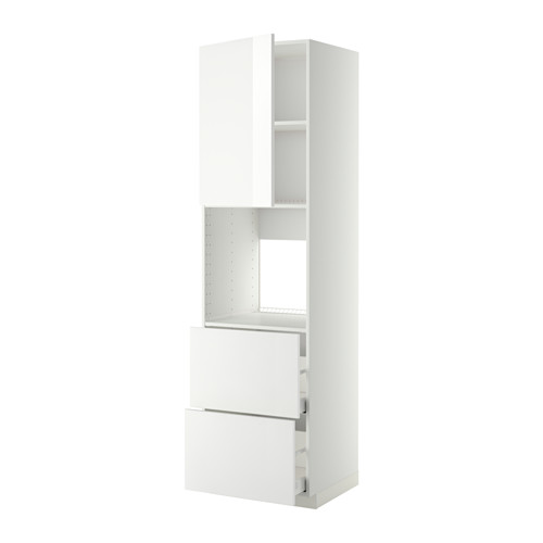 METOD/MAXIMERA - hi cab f ov w dr/2 frnts/2 hi drwrs, white/Ringhult white | IKEA Hong Kong and Macau - PE368655_S4