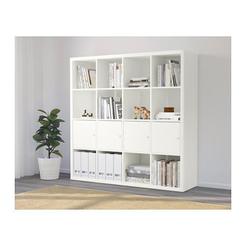 KALLAX - 層架組合連4個貯物格, 白色   IKEA 香港及澳門 - PE639932_S4