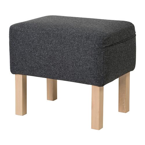 OMTÄNKSAM - 腳凳, Gunnared 深灰色 | IKEA 香港及澳門 - PE687320_S4