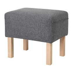 OMTÄNKSAM - 腳凳, Gunnared 暗灰色 | IKEA 香港及澳門 - PE687310_S3