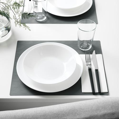 SLIRA - 餐墊, 灰色 | IKEA 香港及澳門 - PE730515_S4