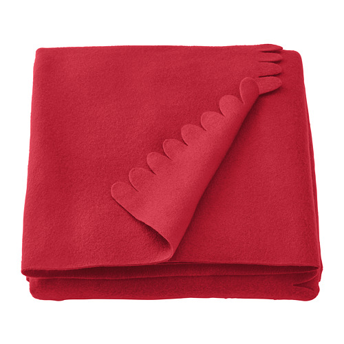 POLARVIDE - throw, red   IKEA Hong Kong and Macau - PE772958_S4