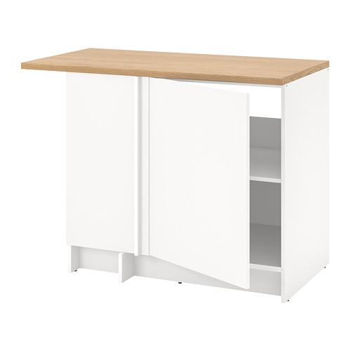 KNOXHULT - 角位地櫃, 白色 | IKEA 香港及澳門 - PE784798_S4