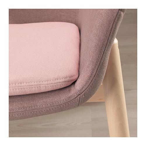 VEDBO - high-back armchair, Gunnared light brown-pink | IKEA Hong Kong and Macau - PE687337_S4