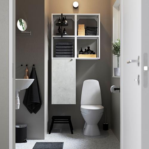 ENHET - 上牆式貯物架組合, white/concrete effect   IKEA 香港及澳門 - PE784831_S4