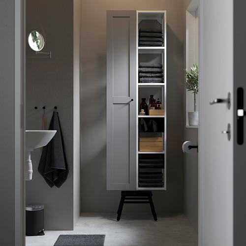 ENHET - 上牆式貯物架組合, white/grey frame   IKEA 香港及澳門 - PE784833_S4