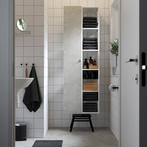 ENHET - 上牆式貯物架組合, white/concrete effect | IKEA 香港及澳門 - PE784838_S4