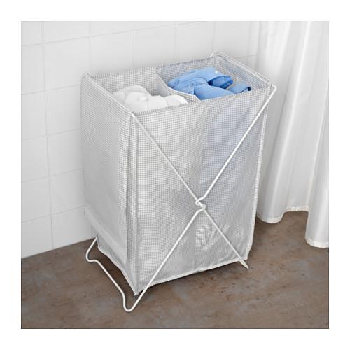 TORKIS - laundry basket, white/grey   IKEA Hong Kong and Macau - PE640055_S4