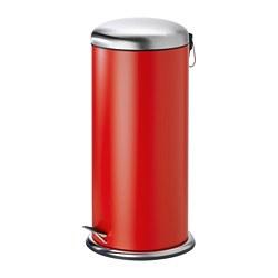 MJÖSA - 腳踏式垃圾桶, 紅色 | IKEA 香港及澳門 - PE773029_S3