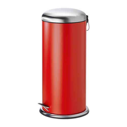 MJÖSA - 腳踏式垃圾桶, 紅色 | IKEA 香港及澳門 - PE773029_S4