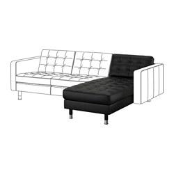 LANDSKRONA - 躺椅(組合用), Grann/Bomstad 黑色/金屬 | IKEA 香港及澳門 - PE640062_S3