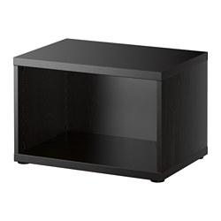 BESTÅ - frame, black-brown | IKEA Hong Kong and Macau - PE513551_S3