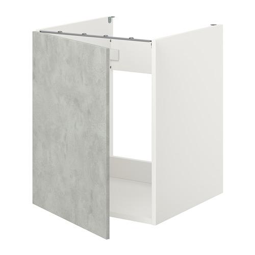 ENHET - 星盆用地櫃連門, 白色/仿混凝土 | IKEA 香港及澳門 - PE773364_S4