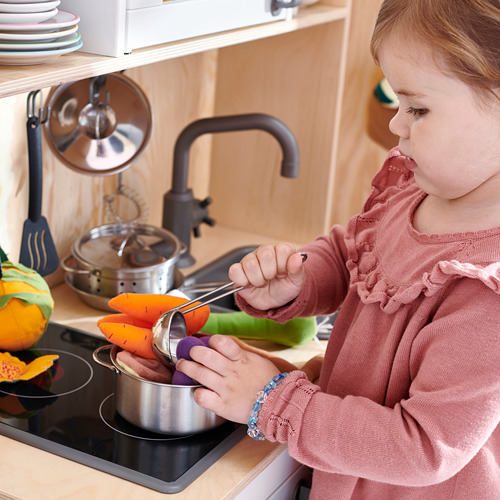 DUKTIG 5-piece toy cookware set