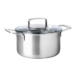 IKEA 365+ - 連蓋鍋 3升, 不銹鋼/玻璃 | IKEA 香港及澳門 - PE513830_S3