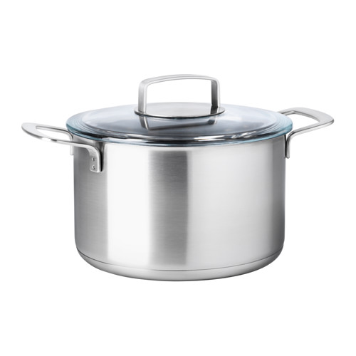 IKEA 365+ - 連蓋鍋 5升, 不銹鋼/玻璃 | IKEA 香港及澳門 - PE513831_S4