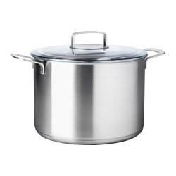 IKEA 365+ - 連蓋湯鍋 10升, 不銹鋼/玻璃 | IKEA 香港及澳門 - PE513834_S3
