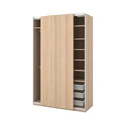 PAX - wardrobe, Hasvik/white stained oak effect | IKEA Hong Kong and Macau - PE730671_S3