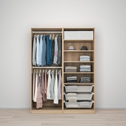 PAX - 衣櫃, Hasvik/染白橡木紋, 150x66x201.2cm | IKEA 香港及澳門 - PE730670_S4