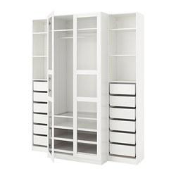 PAX - wardrobe, white/Tyssedal glass   IKEA Hong Kong and Macau - PE730704_S3