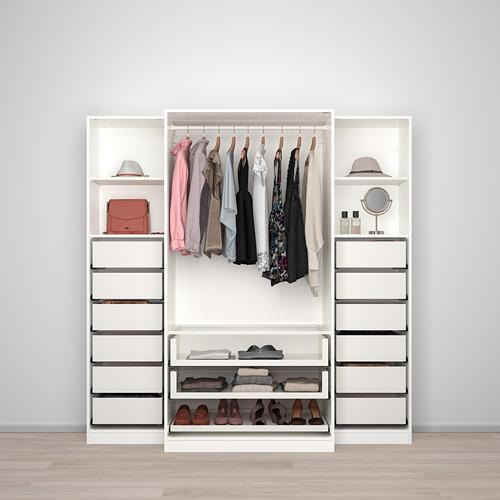 PAX - 衣櫃, 白色/Tyssedal 玻璃 | IKEA 香港及澳門 - PE730703_S4