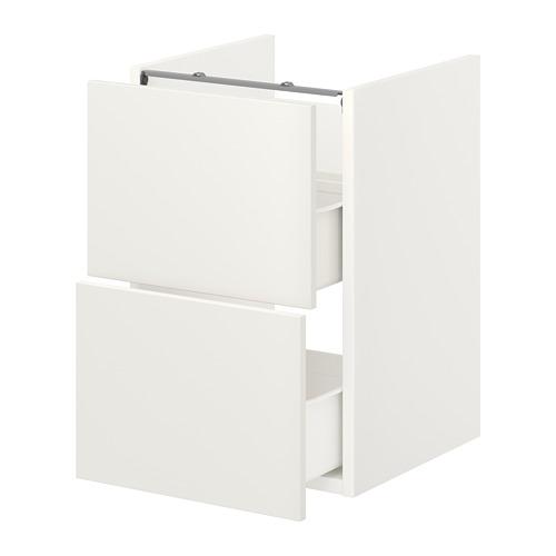 ENHET - base cb f washbasin w 2 drawers, white | IKEA Hong Kong and Macau - PE773184_S4