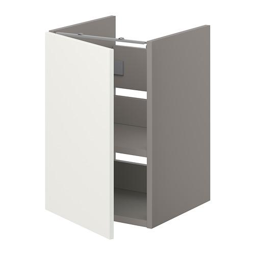 ENHET - bs cb f wb w shlf/door, grey/white   IKEA Hong Kong and Macau - PE773214_S4