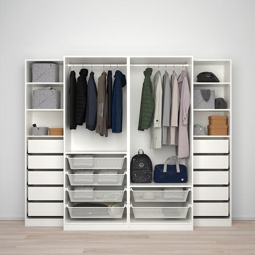 PAX - wardrobe, white/Mehamn Auli | IKEA Hong Kong and Macau - PE730709_S4