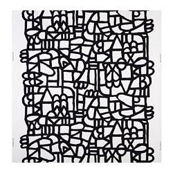 SKUGGBRÄCKA - 布料, 白色/黑色 | IKEA 香港及澳門 - PE730724_S3