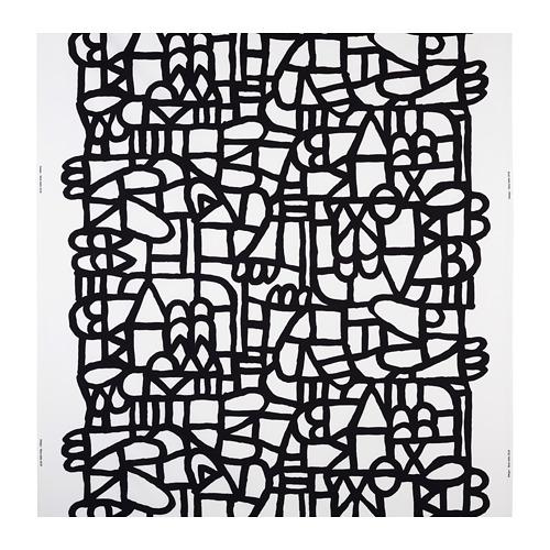 SKUGGBRÄCKA - fabric, white/black | IKEA Hong Kong and Macau - PE730724_S4
