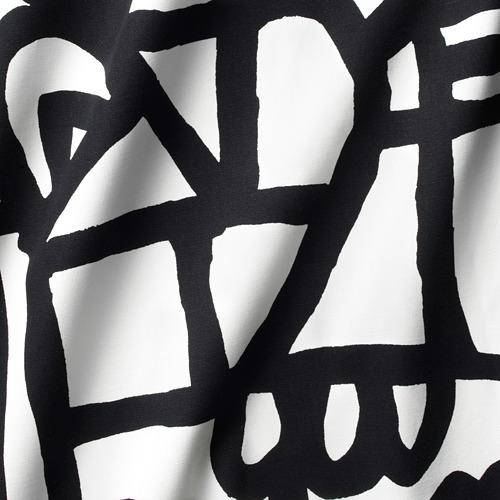 SKUGGBRÄCKA - fabric, white/black | IKEA Hong Kong and Macau - PE730730_S4