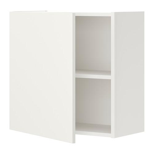 ENHET - 吊櫃連1塊層板/門, 白色   IKEA 香港及澳門 - PE773230_S4