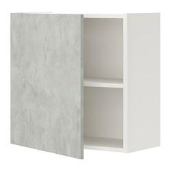 ENHET - wall cb w 1 shlf/door, white/concrete effect | IKEA Hong Kong and Macau - PE773231_S3