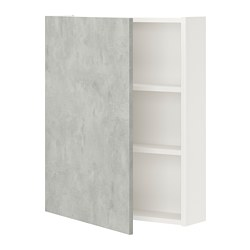 ENHET - 雙門吊櫃連2層板, 白色/仿混凝土 | IKEA 香港及澳門 - PE773289_S3