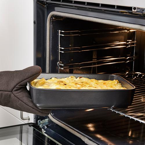 LYCKAD - oven/serving dish set of 2, dark grey   IKEA Hong Kong and Macau - PE785012_S4