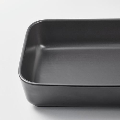 LYCKAD - oven/serving dish set of 2, dark grey   IKEA Hong Kong and Macau - PE785015_S4