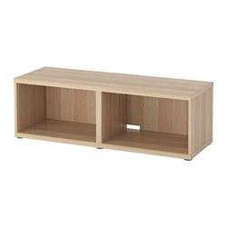 BESTÅ - TV bench, white stained oak effect | IKEA Hong Kong and Macau - PE516848_S3