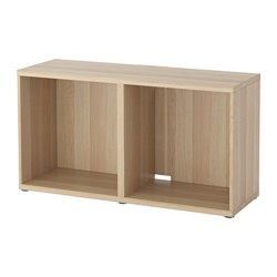 BESTÅ - TV bench, white stained oak effect | IKEA Hong Kong and Macau - PE516843_S3
