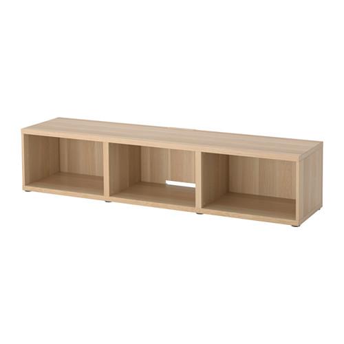 BESTÅ - 電視几, 染白橡木紋 | IKEA 香港及澳門 - PE516838_S4