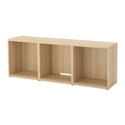 BESTÅ - TV bench, white stained oak effect | IKEA Hong Kong and Macau - PE516833_S3