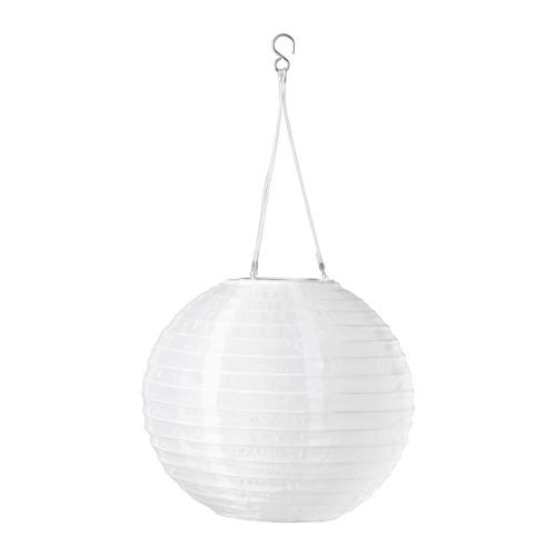 SOLVINDEN - 太陽能LED吊燈, 戶外/球形 白色 | IKEA 香港及澳門 - PE516205_S4