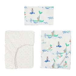 RÖDHAKE - 嬰兒寢具,3件套裝 | IKEA 香港及澳門 - PE730761_S3