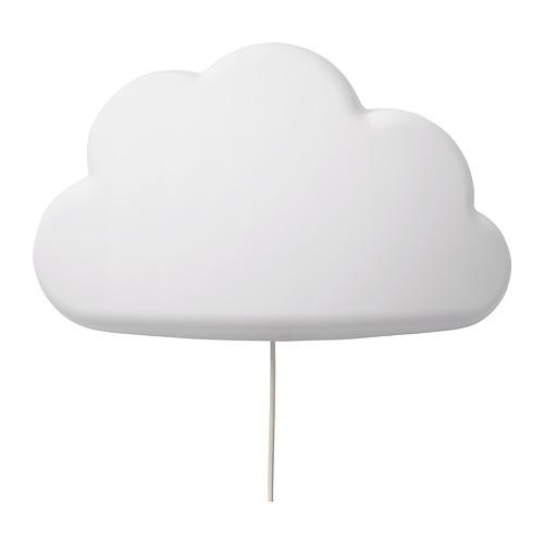 UPPLYST - LED壁燈, 雲形 白色   IKEA 香港及澳門 - PE730767_S4