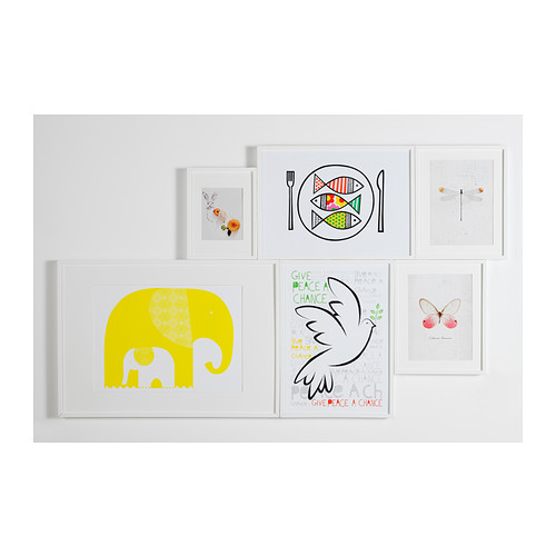 RIBBA - 畫框, 白色 | IKEA 香港及澳門 - PE344641_S4