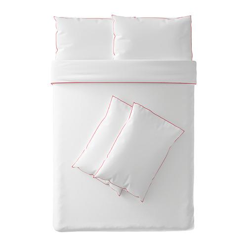 KUNGSBLOMMA 雙人被套枕袋套裝